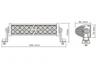 Led lisapaneel 120W  8600lm