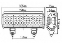 Led lisapaneel 72W 7200lm